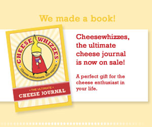 Buy &quot;Cheesewhizzes, the ultimate cheese tasting journal&quot; today!